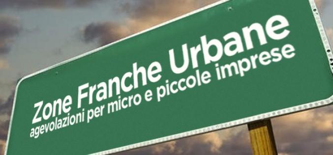 ZONE FRANCHE URBANE: Da oggi via alle domande on-line per agevolazioni per micro, piccole imprese e studi professionali