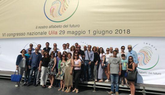 Concluso il 6° Congresso nazionale UILA, pioggia di incarichi di prestigio per la delegazione UILA Foggia